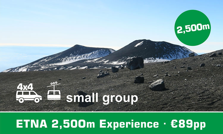 Etna 2.500m Experience Morning